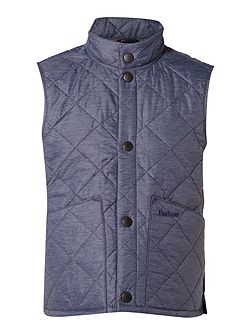 Boys Wax Quilted Gilet
