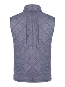 Barbour Boys Wax Quilted Gilet