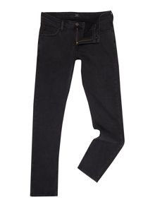 Lee Washed Black Skinny Jeans
