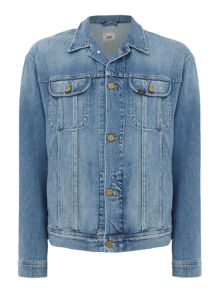 Lee Oversized Light Wash Denim Jacket