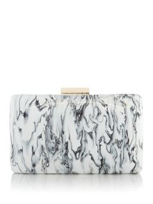 Olga Berg Marble clutch crossbody bag