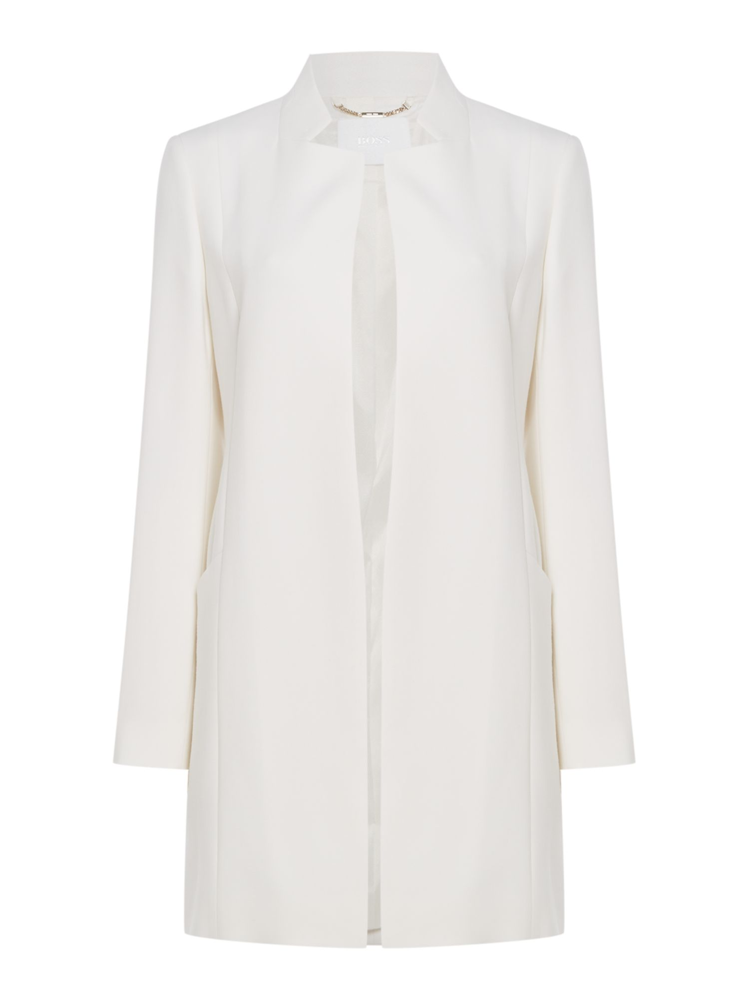 Hugo Boss Calana coat, White
