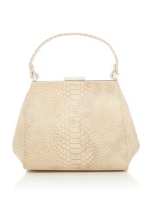 Olga Berg Neutral clutch bag