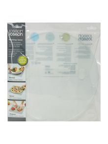 Joseph Joseph Worktop Saver Round Clear