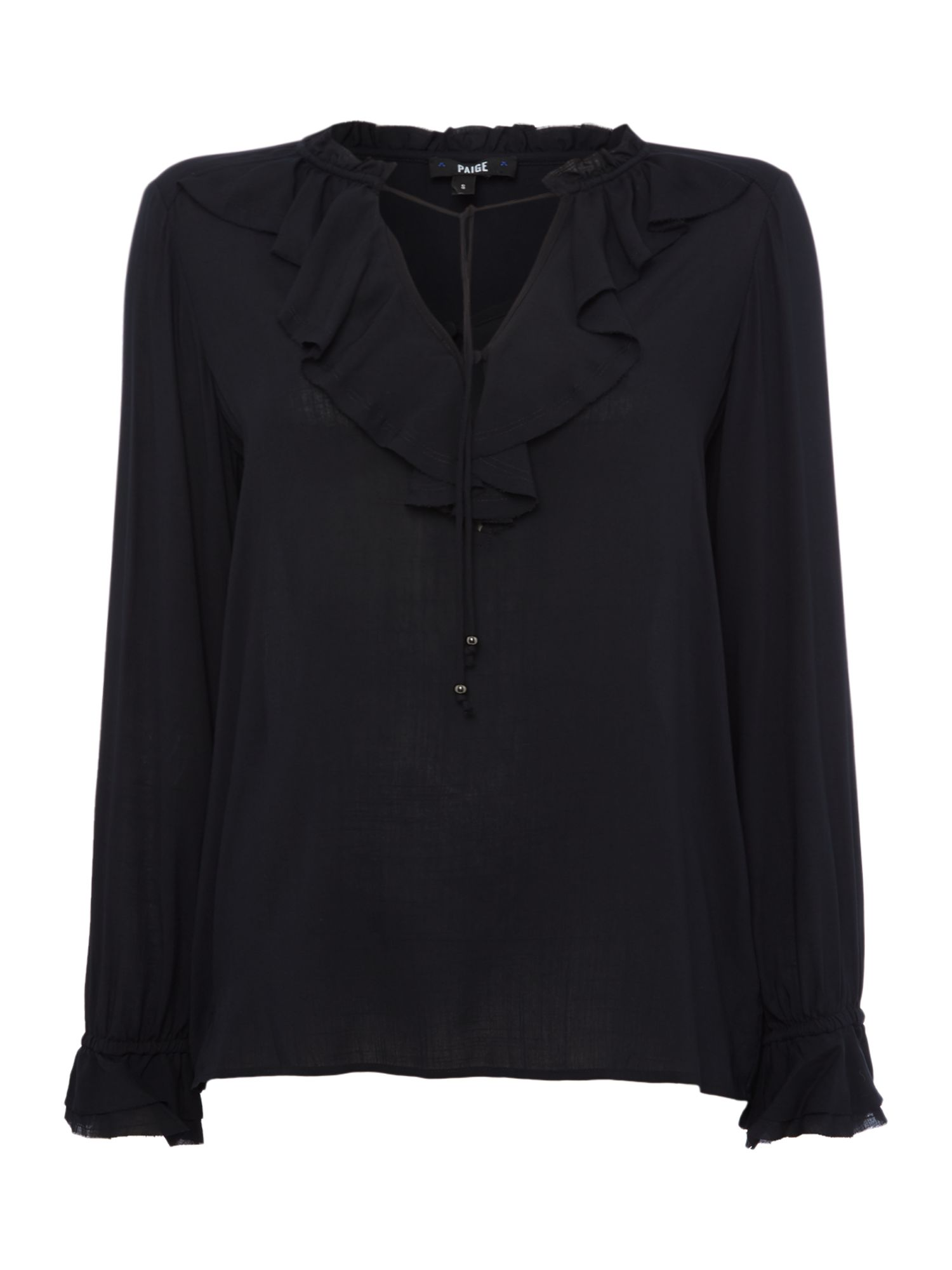 Paige FAUNA BLOUSE, Black