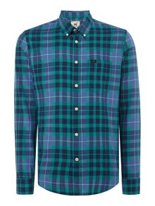 Lee Button Down Check Shirt