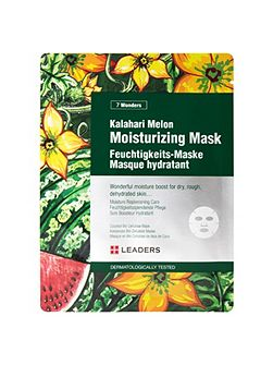 7 Wonders Kalahari Melon Moisturising Sheet Mask