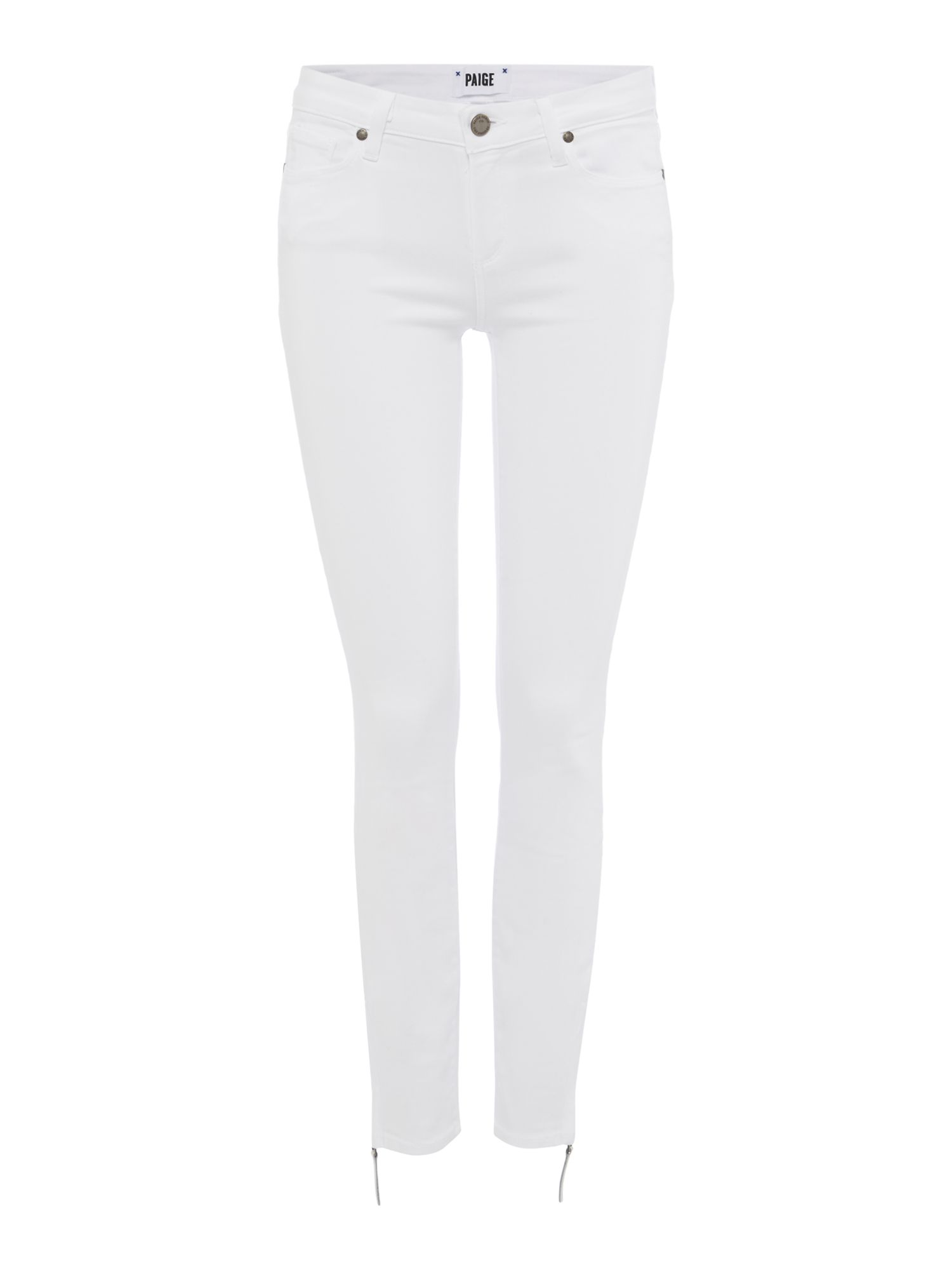 Verdugo Ankle Jean In Ultra White, White
