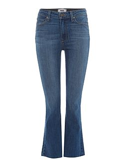 Collette Crop Flare Jean In Cosmo