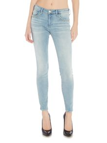 True Religion Halle twisted eyelet 29 in cloud nine