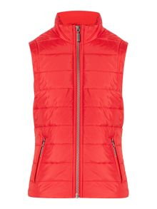 Barbour Girls Lightweight Front Zip Gilet
