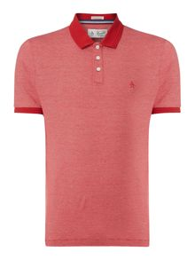 Original Penguin Feder Striped Polo Shirt
