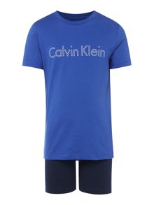 Calvin Klein Boys T-Shirt & Shorts Logo Set