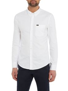 Lee SLIM BUTTON DOWN V