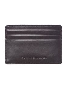 Tommy Hilfiger Deboss Leather Credit Card Holder