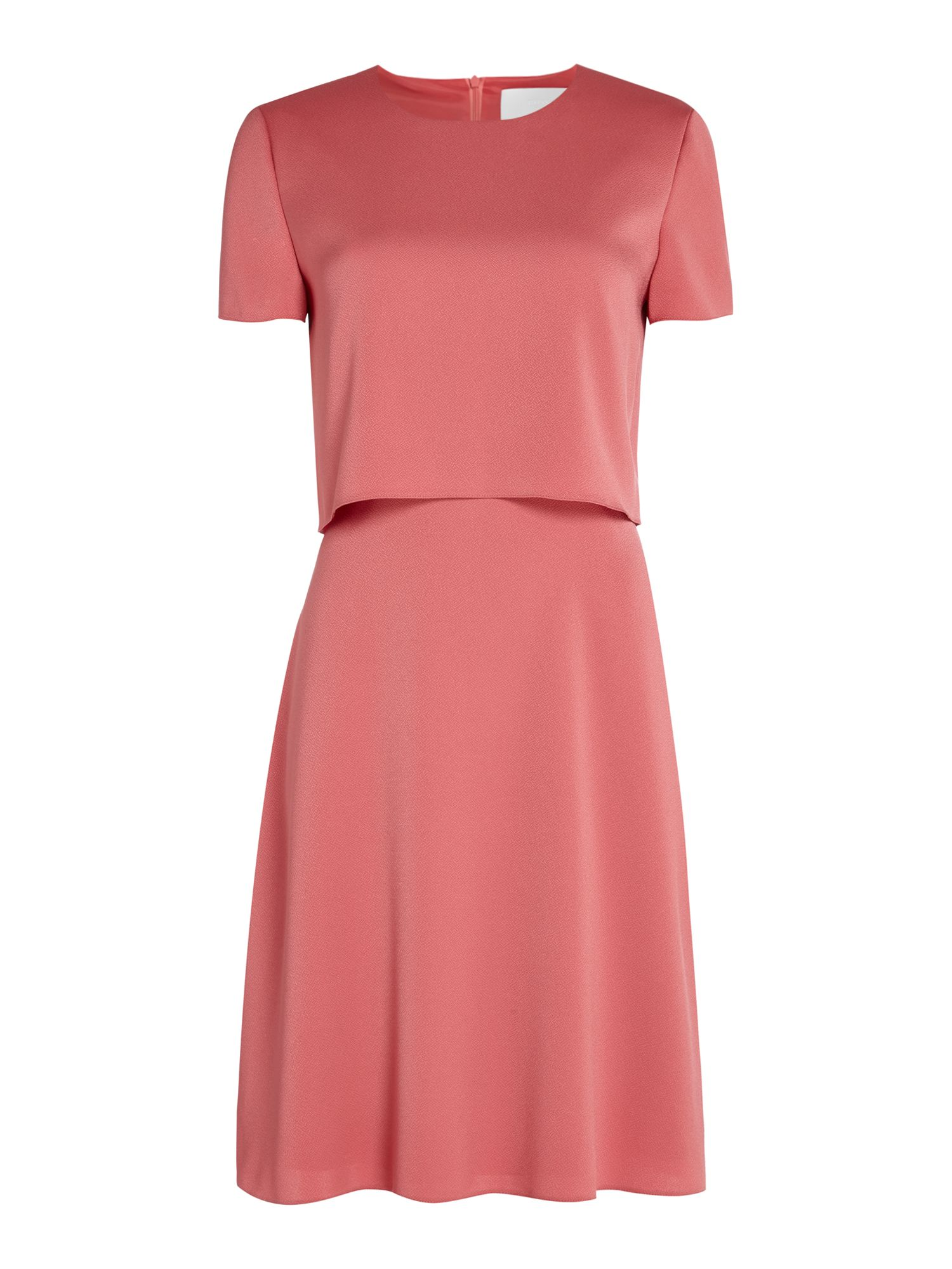 Hugo Boss Dicenda pop over dress, Pink