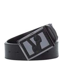 Versace Jeans Rubberised Logo Belt