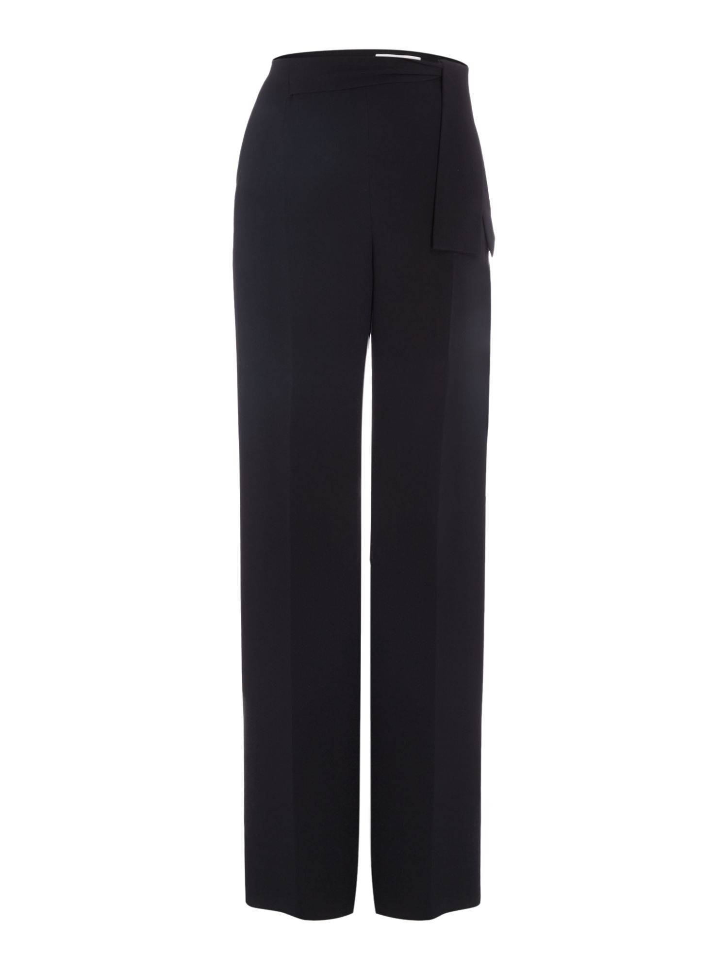 Hugo Boss Tasala wide leg trouser, Black