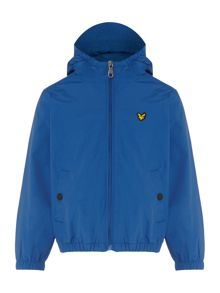Lyle and Scott Boys Logo Zip Through Windbreaker