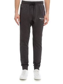 Nicce Polytech Relaxed Fit Tracksuit Bottoms