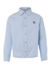 Timberland Boys Cotton Oxford Shirt