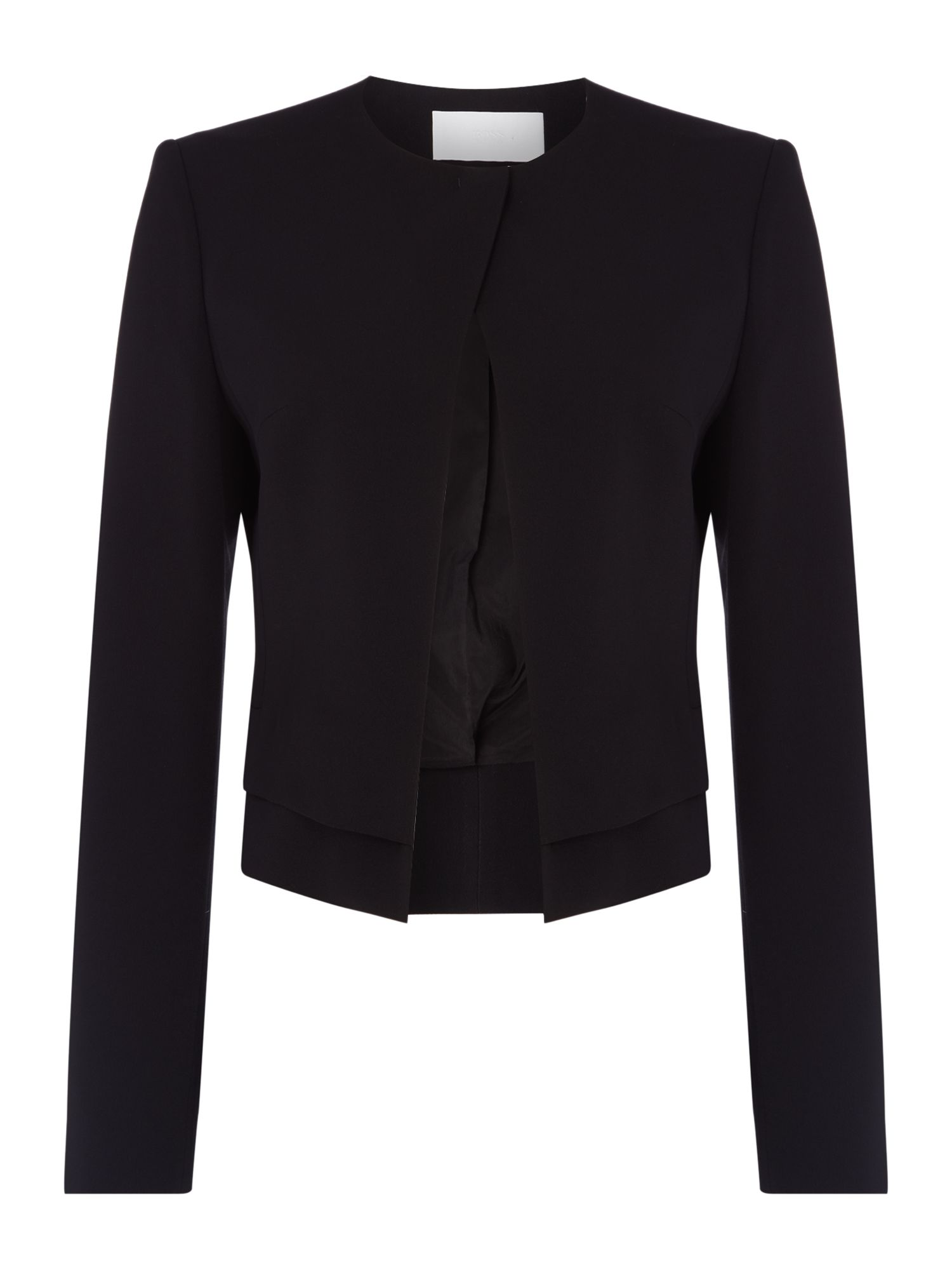 Hugo Boss Jasla jacket, Black