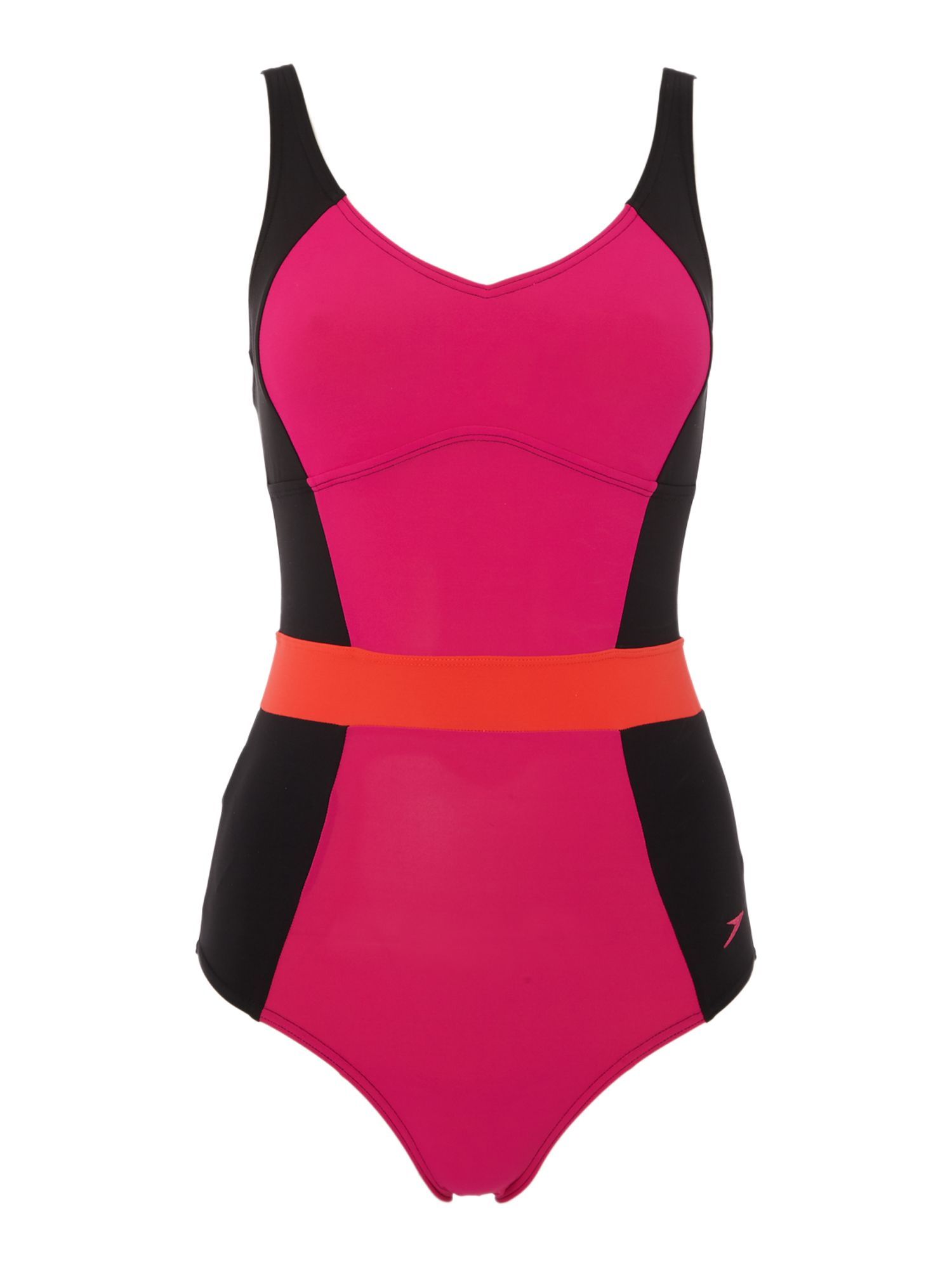 Speedo Crystalgleam one piece swimsuit, Pink