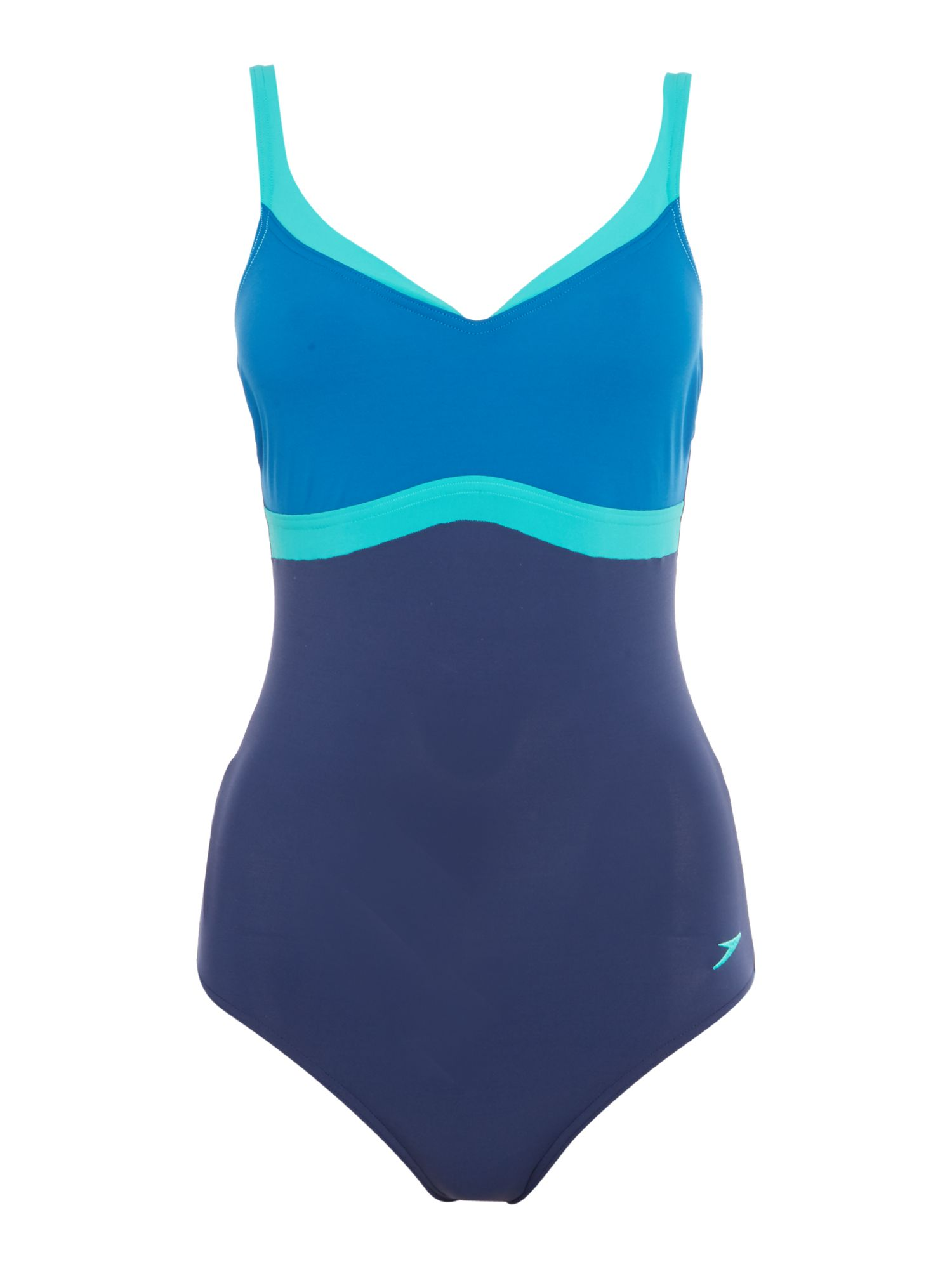 Speedo Aquajewel one piece swimsuit, Blue
