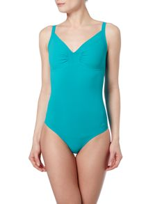 Speedo Sculpture Watergem One Piece Swimsuit