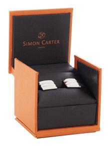 Simon Carter Triple Pyramid Cufflinks