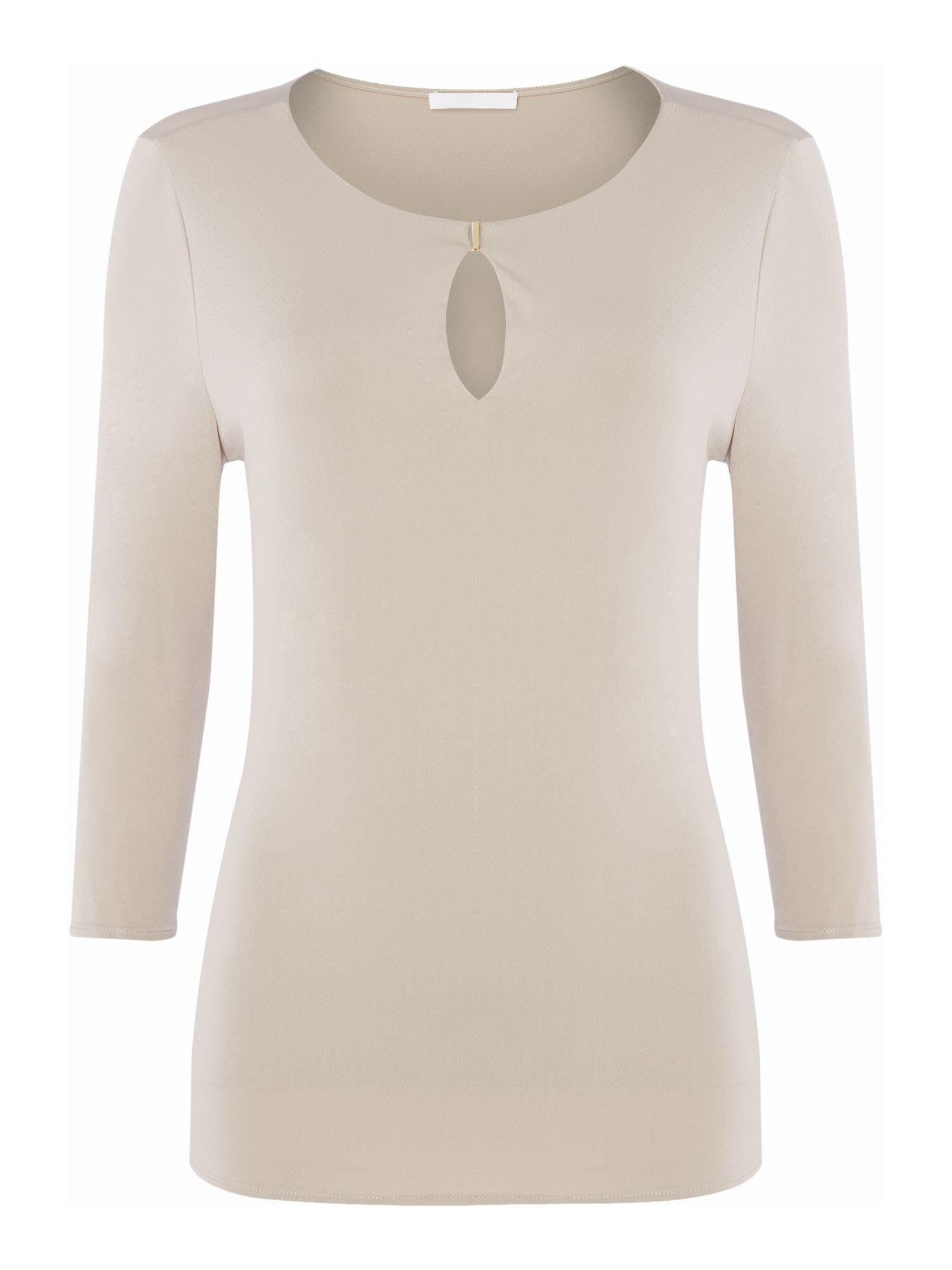 Hugo Boss Epina hardware detail top, White