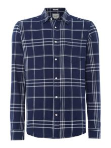 Wrangler Long Sleeve Checked Shirt