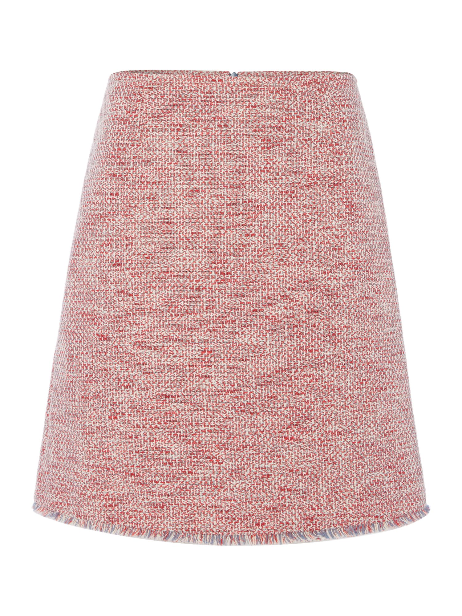 Hugo Textured a line skirt, Multi-Coloured