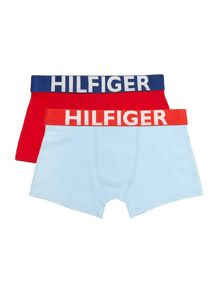 Tommy Hilfiger Boys Solid 2 Pack Trunk