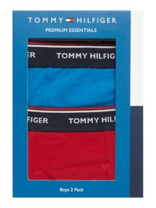 Tommy Hilfiger Boys Solid Trunk 2 Pack