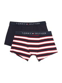 Tommy Hilfiger Boys Block Stripe 2 Pack Trunk