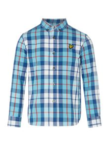Lyle and Scott Boys Big Scale Check Shirt