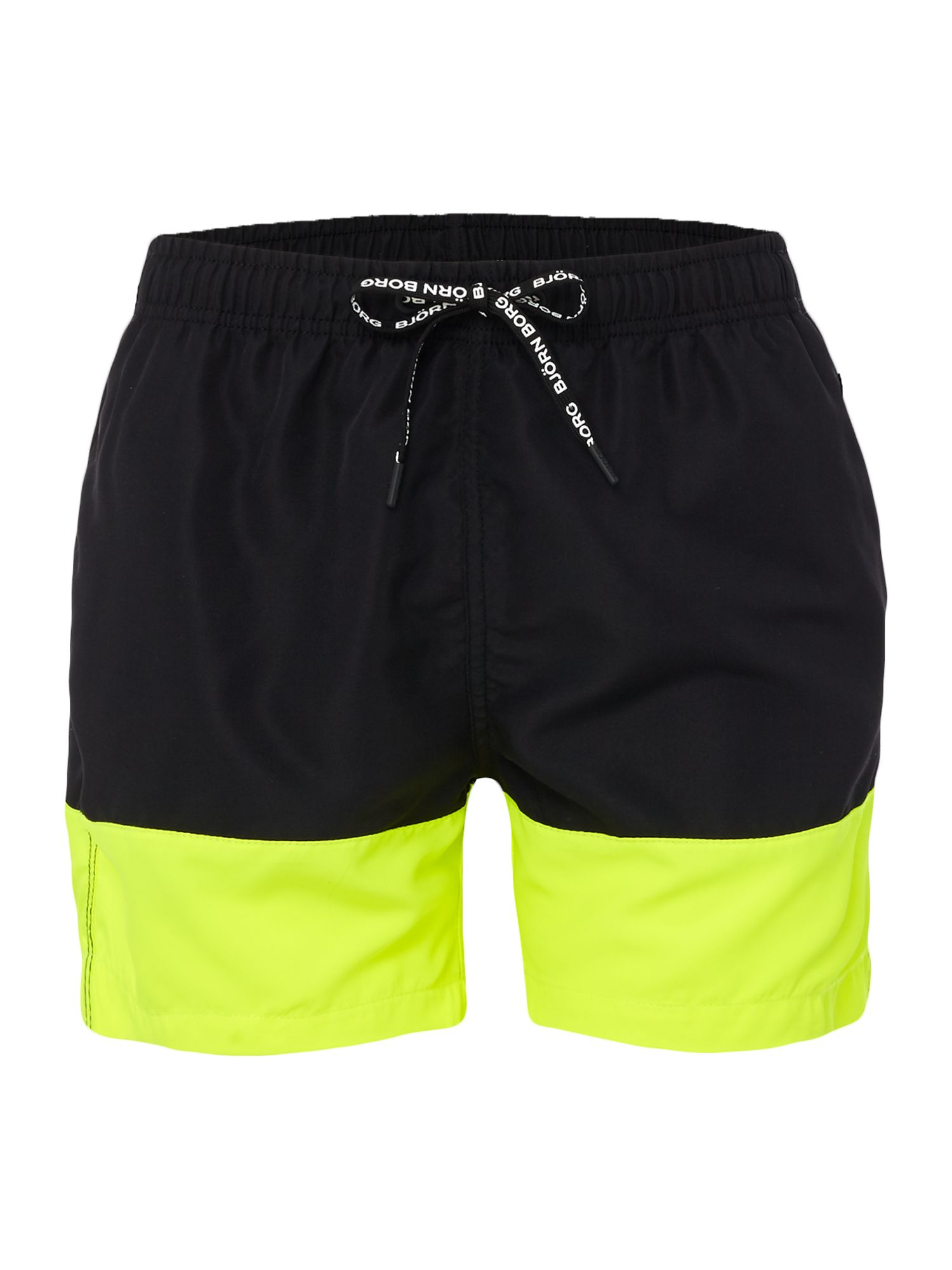 Men's Bjorn Borg Colour Block Swim shorts, Black