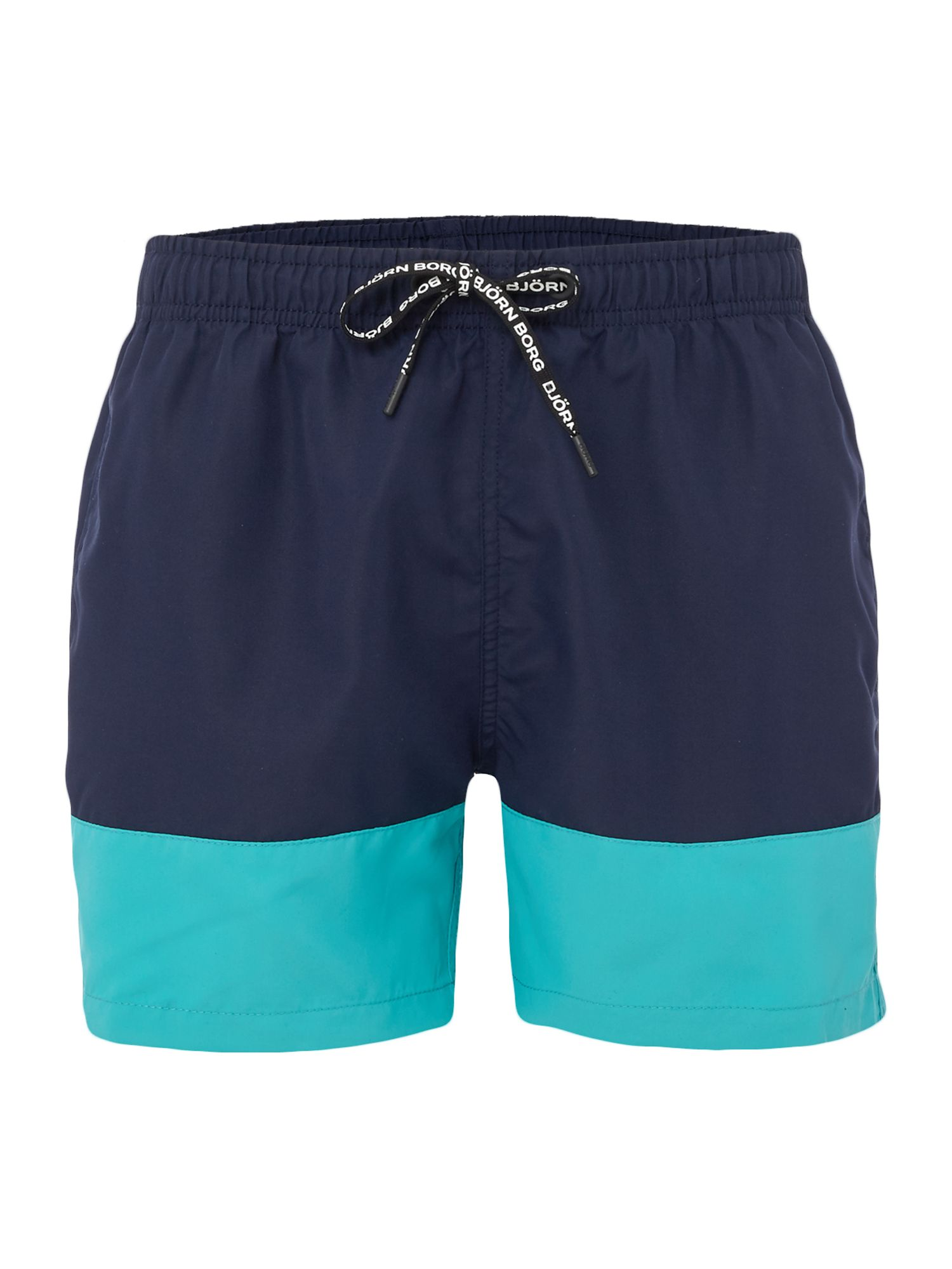 Men's Bjorn Borg Colour Block Swim shorts, Blue