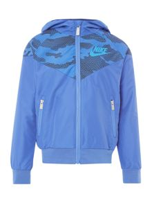 Nike Boys Camo Print Windbreaker
