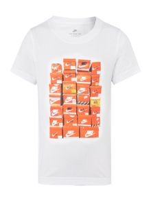 Nike Boys Stacked Shoe Boxes T-Shirt