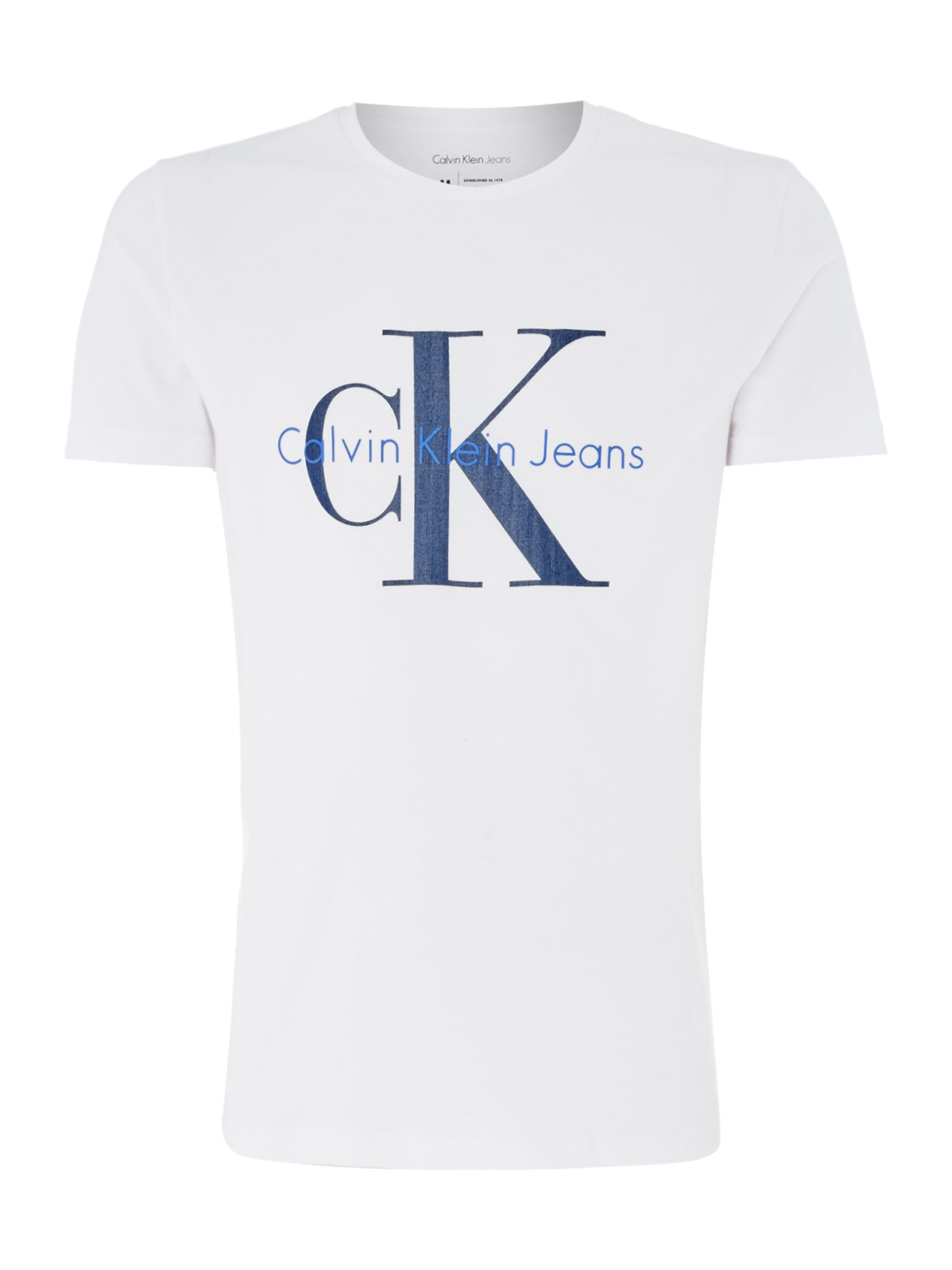 Men's Calvin Klein Tolme True Icon T-Shirt, White