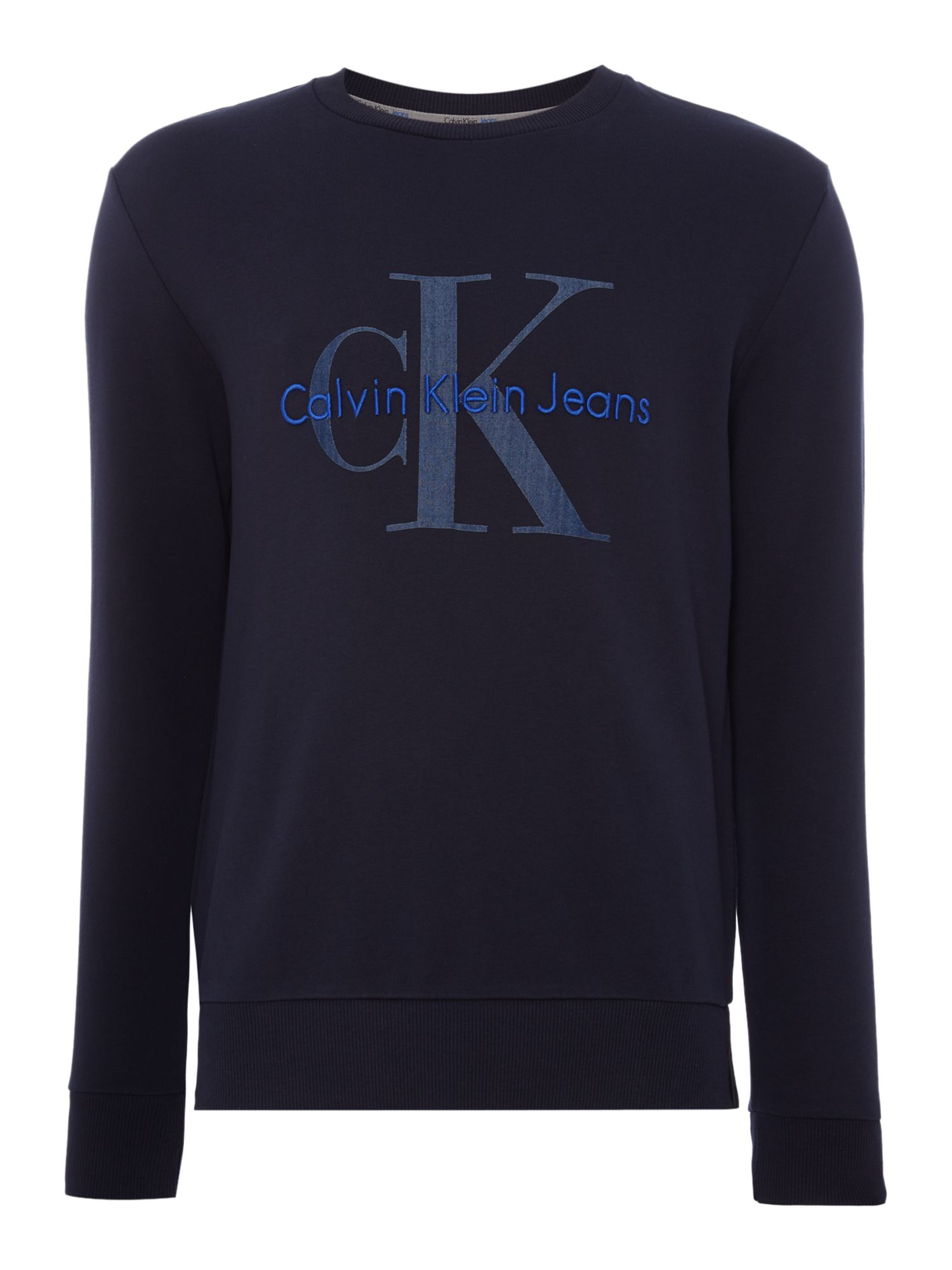 Men's Calvin Klein Holme True Icon Sweater, Blue