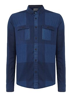 Windo Indigo Check Shirt