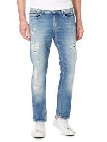 Calvin Klein Slim Straight Shadow Jeans