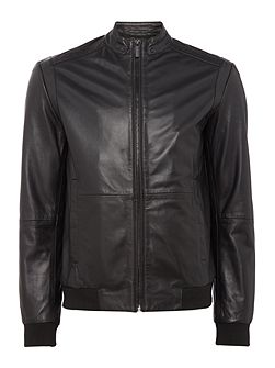 Mace Leather Moto Jacket