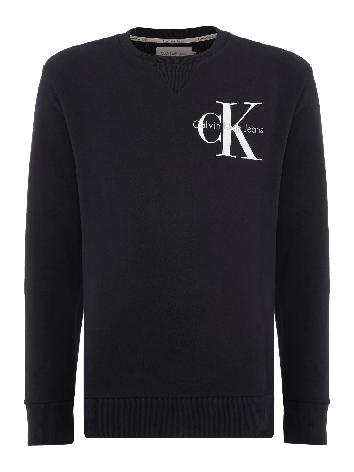 Men's Calvin Klein Haro True Icon Sweatshirt, Black