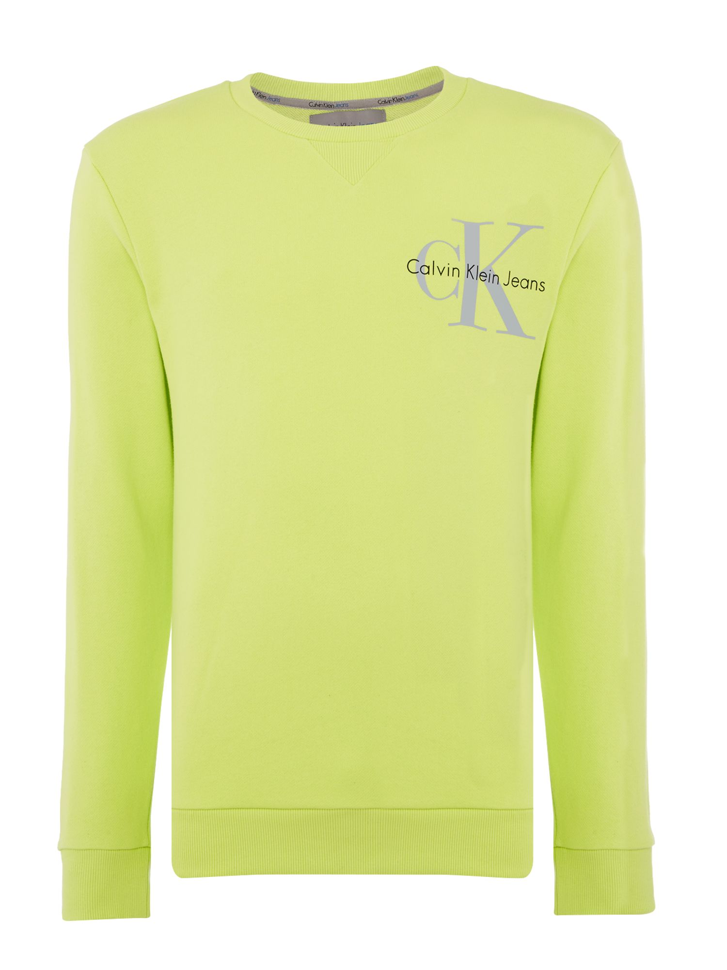 Men's Calvin Klein Haro True Icon Sweatshirt, Green