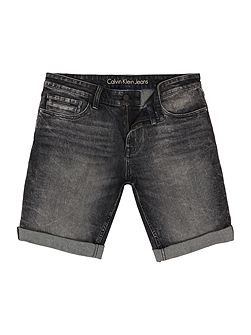 Slim Short - Black Pearl Denim Shorts