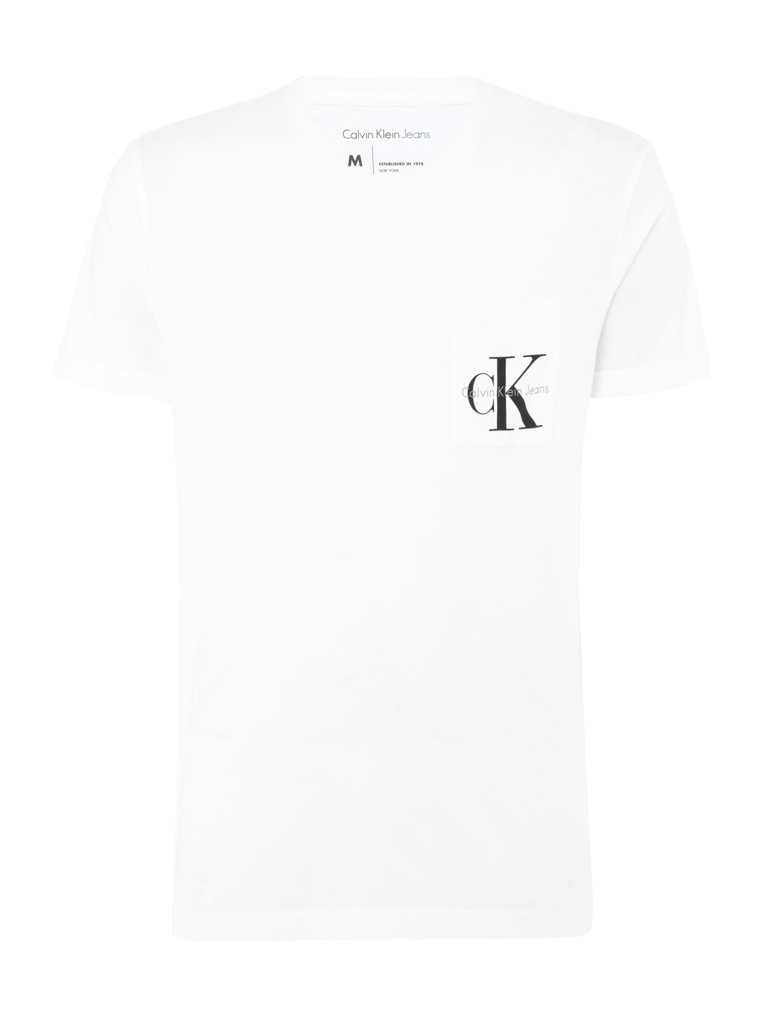 Men's Calvin Klein Bolan True Icon T-shirt, White